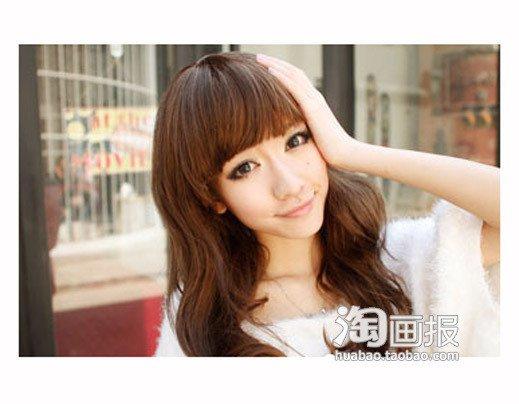 甜美假发 短发怎么带假发好看~桃花朵朵开 zaoxingkong.com