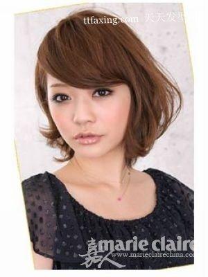 适合圆脸MM5款日发型(圆脸适合的发型图片) zaoxingkong.com