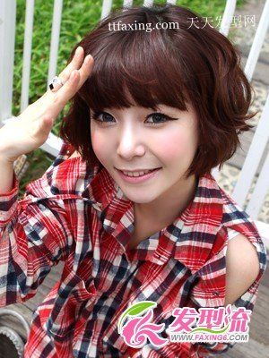 圆脸适合的发型图片 圆脸适合什么发型 zaoxingkong.com
