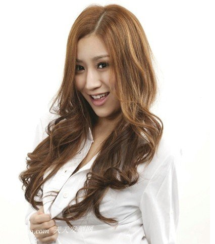 2013年最新陶瓷烫发型系列之长卷发 zaoxingkong.com