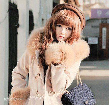 蓬松离子烫发型图片凸显时尚潮流 zaoxingkong.com