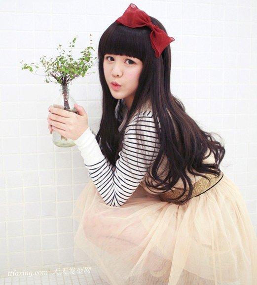 2013长发烫发发型图片展示,塑造甜美气质 zaoxingkong.com