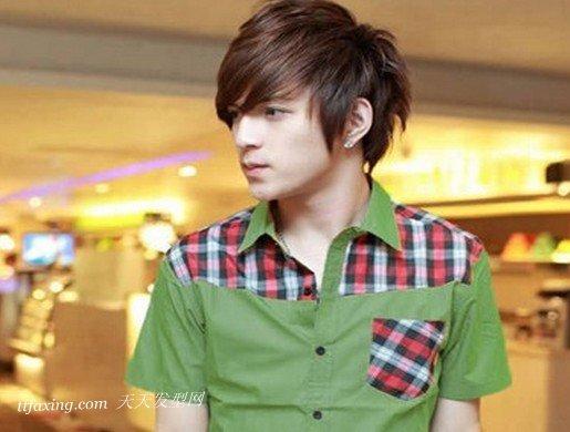 最流行的男生离子烫发型 zaoxingkong.com