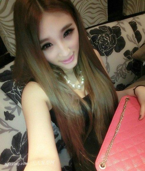 非主流女生直发发型带你领略可爱魅力 zaoxingkong.com