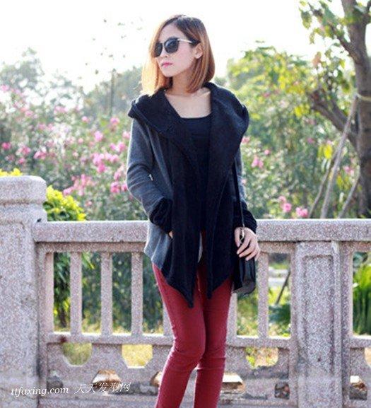 集具多种风格的齐肩直发发型 zaoxingkong.com