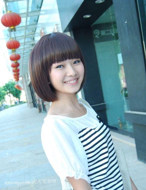方脸发型图片尽显独特魅力 zaoxingkong.com