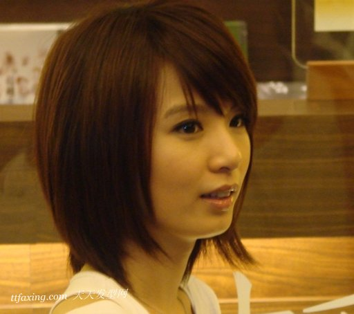 独具魅力的明星短发波波头发型图片 zaoxingkong.com