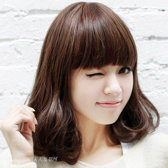 2013年瘦脸效果最好的梨花头发型 zaoxingkong.com
