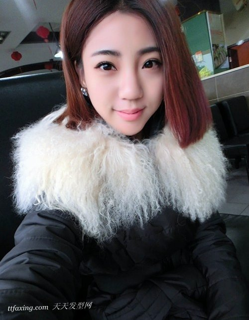 六款不同风格斜刘海直发发型领略独特的清纯魅力 zaoxingkong.com