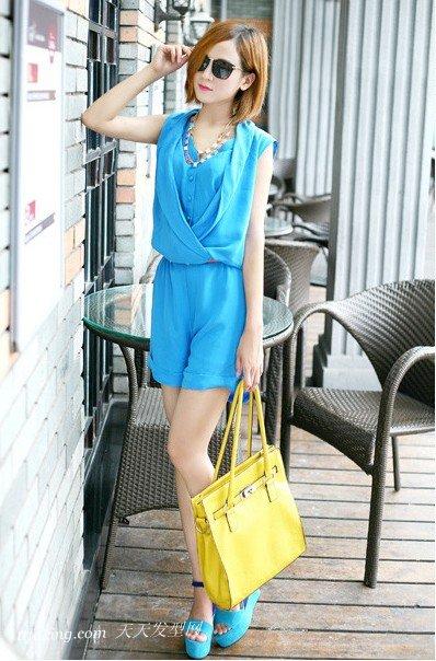 简约时尚的波波头发型图片 zaoxingkong.com