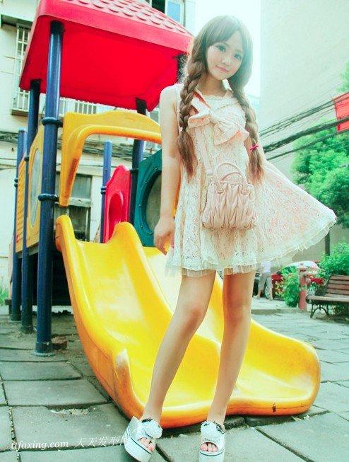 甜美淑女流行美韩式编发 zaoxingkong.com