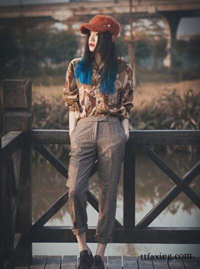 咖啡色英伦风女装搭配 帅气而又迷人 zaoxingkong.com
