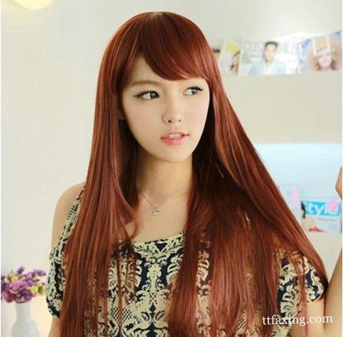 长直发发型图片 甜美可人很有范儿 zaoxingkong.com