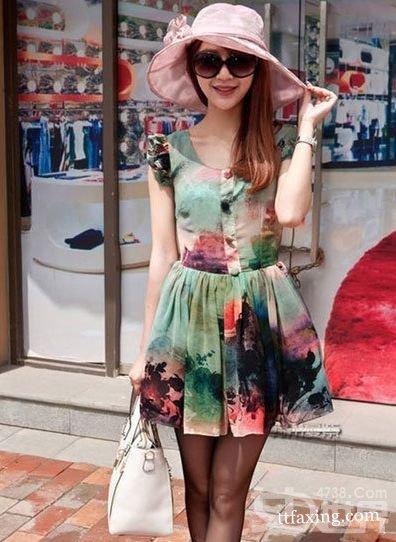 夏日甜美连衣裙搭配 漂亮凉快美美出街 zaoxingkong.com